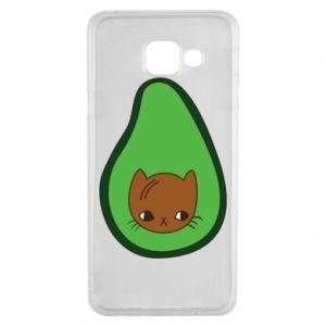 Etui na Samsung A3 2016 Cat in avocado