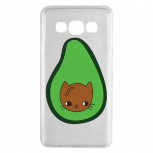 Etui na Samsung A3 2015 Cat in avocado