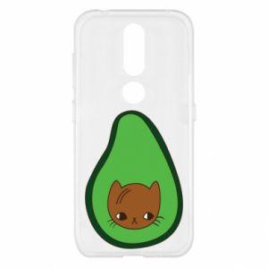 Etui na Nokia 4.2 Cat in avocado