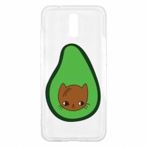 Etui na Nokia 2.3 Cat in avocado