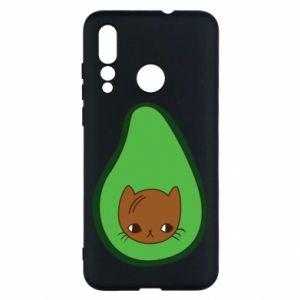 Etui na Huawei Nova 4 Cat in avocado