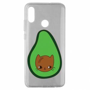Etui na Huawei Honor 10 Lite Cat in avocado