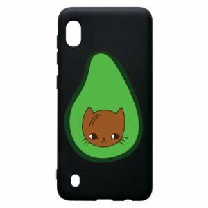 Etui na Samsung A10 Cat in avocado