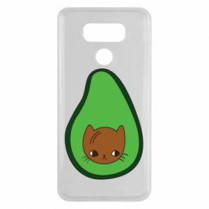 Etui na LG G6 Cat in avocado