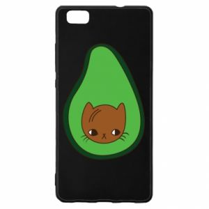 Etui na Huawei P 8 Lite Cat in avocado