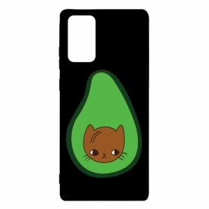 Etui na Samsung Note 20 Cat in avocado
