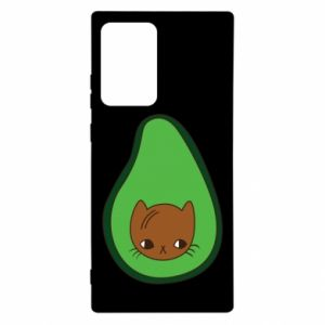 Etui na Samsung Note 20 Ultra Cat in avocado