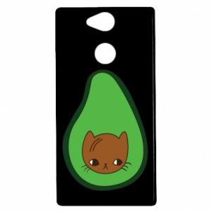 Etui na Sony Xperia XA2 Cat in avocado