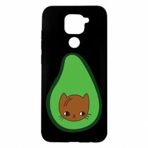 Etui na Xiaomi Redmi Note 9/Redmi 10X Cat in avocado