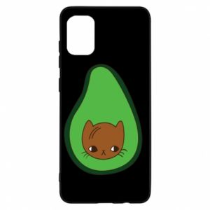 Etui na Samsung A31 Cat in avocado