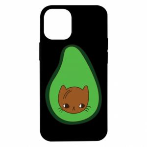 Etui na iPhone 12 Mini Cat in avocado