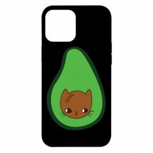 Etui na iPhone 12 Pro Max Cat in avocado