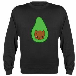 Bluza Cat in avocado