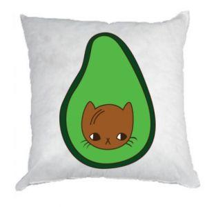 Poduszka Cat in avocado