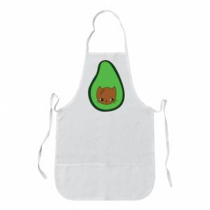 Fartuch Cat in avocado