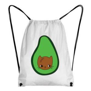 Plecak-worek Cat in avocado