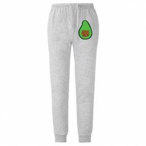 Spodnie lekkie męskie Cat in avocado