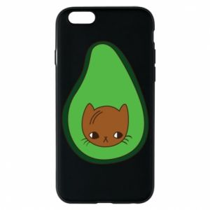 Etui na iPhone 6/6S Cat in avocado