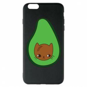 Etui na iPhone 6 Plus/6S Plus Cat in avocado