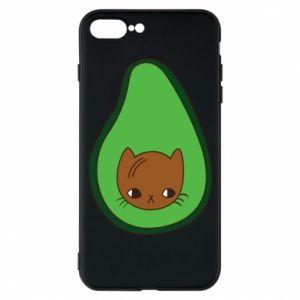 Etui na iPhone 7 Plus Cat in avocado