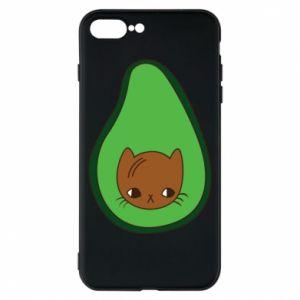 Etui na iPhone 8 Plus Cat in avocado