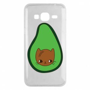 Etui na Samsung J3 2016 Cat in avocado