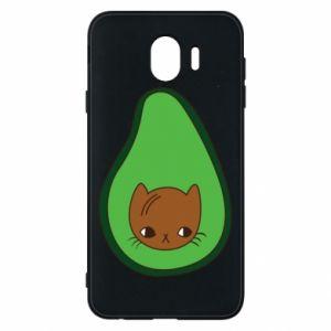 Etui na Samsung J4 Cat in avocado