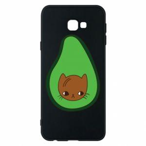 Etui na Samsung J4 Plus 2018 Cat in avocado