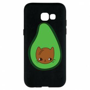 Etui na Samsung A5 2017 Cat in avocado
