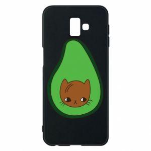 Etui na Samsung J6 Plus 2018 Cat in avocado
