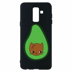 Etui na Samsung A6+ 2018 Cat in avocado