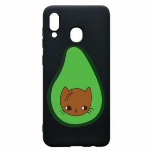 Etui na Samsung A30 Cat in avocado