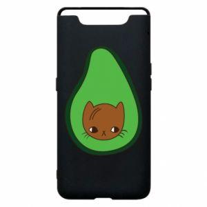 Etui na Samsung A80 Cat in avocado