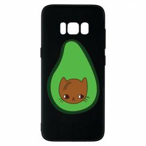 Etui na Samsung S8 Cat in avocado