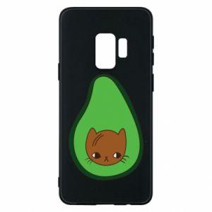 Etui na Samsung S9 Cat in avocado