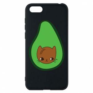 Etui na Huawei Y5 2018 Cat in avocado