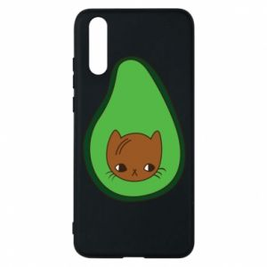 Etui na Huawei P20 Cat in avocado