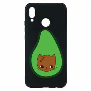 Etui na Huawei P20 Lite Cat in avocado