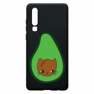 Etui na Huawei P30 Cat in avocado