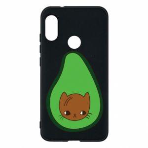 Etui na Mi A2 Lite Cat in avocado