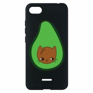 Etui na Xiaomi Redmi 6A Cat in avocado