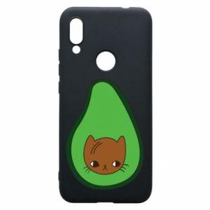 Etui na Xiaomi Redmi 7 Cat in avocado