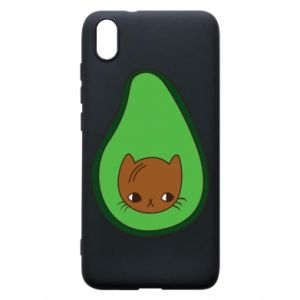 Etui na Xiaomi Redmi 7A Cat in avocado