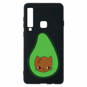 Etui na Samsung A9 2018 Cat in avocado