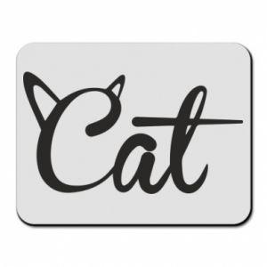 Podkładka pod mysz Cat inscription with ears
