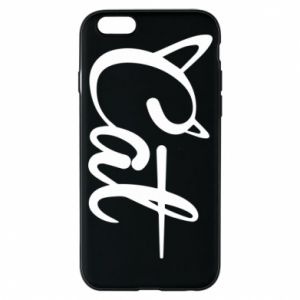 Etui na iPhone 6/6S Cat inscription with ears