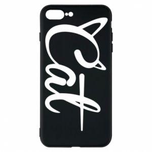 Etui na iPhone 7 Plus Cat inscription with ears
