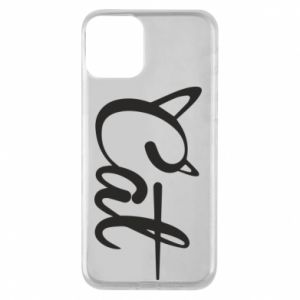 Etui na iPhone 11 Cat inscription with ears