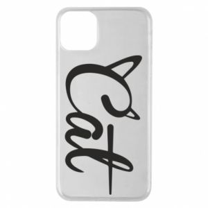 Etui na iPhone 11 Pro Max Cat inscription with ears