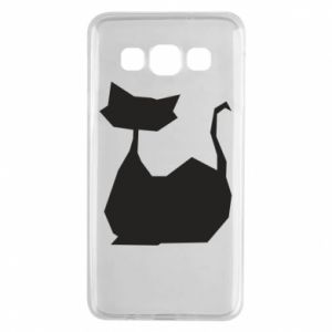 Etui na Samsung A3 2015 Cat lies graphics